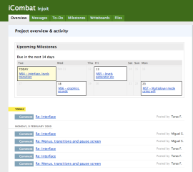 Basecamp screenshot example